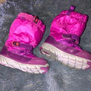Stride rite girls snow boots size 6w